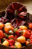 Natürliche Früchte Stockfotografie