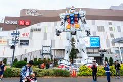 Natürliche Größe Gundam Lizenzfreies Stockfoto