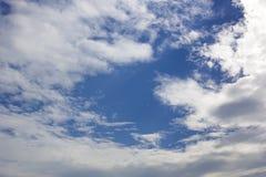 Natürliche Himmelzusammensetzung Natürlicher Himmelaufbau Stockbild