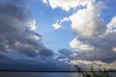 Natürliche Himmelzusammensetzung Natürlicher Himmelaufbau Stockfoto