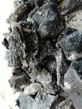 Natürliche Kohlen stockfotografie