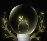 Natürliche Leuchte lizenzfreie stockbilder