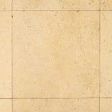 Natürliche Marmorsteine in der alten Schlosshalle Füllen mit Zement Lizenzfreie Stockbilder