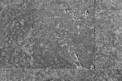 Natürliche Marmorsteine in der alten Schlosshalle Füllen mit Zement Stockfotos