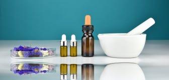 Natürliche organische Medizin und Gesundheitswesen, alternative Betriebsmedizin lizenzfreies stockbild