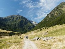 Natürliche Reserve Orlu, Pyrenäen, Frankreich Stockfoto