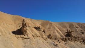 Natürliche Sandbildung stockfotografie