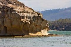 Natürliche Sandsteinklippenanordnung Lizenzfreies Stockfoto