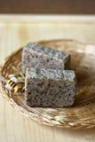natürliche Seife mit Kräutern Lizenzfreies Stockfoto