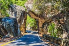 Natürliche Steinbrücke Lizenzfreies Stockfoto