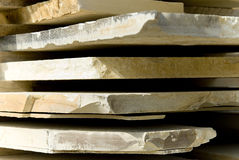 Natürliche Steinplatten Stockfotos