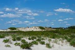 Natürliche Strand-Landschaft Stockfoto