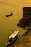 Natürliche Ufergegend in Thailand Lizenzfreies Stockfoto