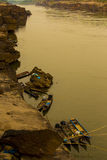 Natürliche Ufergegend in Thailand Stockfoto