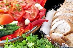 Natürliche und gesunde Nahrung Stockfoto