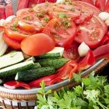 Natürliche und gesunde Nahrung Stockbild
