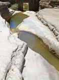 Natürliche Wasser-Bassins lizenzfreie stockfotografie