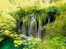 Natürliche Wasserfälle Lizenzfreies Stockfoto