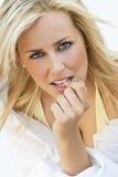 Natürliche weibliche Schönheit Lizenzfreie Stockfotografie