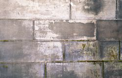 Natürliche Ziegelsteine des alten Schmutzes blockiert strukturierten Steinhintergrund Stockbilder