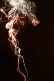 Natürlicher abstrakter Hintergrund des mehrfarbigen Rauches Stockbild