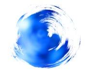 Natürlicher blauer Hintergrund Stockbild