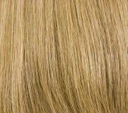 Natürlicher blondes Haar-Hintergrund Stockfoto
