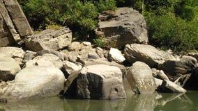 Natürlicher Felsen Stockfoto