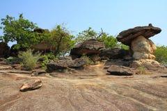 Natürlicher Felsen in Thailand stockfotografie