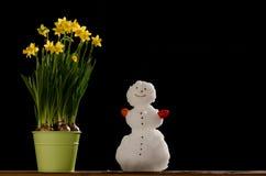 Natürlicher Frühlings-Liebe Stockfoto