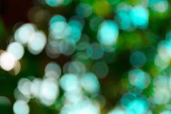 Natürlicher grüner unscharfer Hintergrund Lizenzfreie Stockbilder