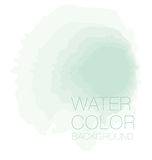 Natürlicher grüner Watercolourpastellhintergrund, Stockbilder