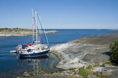 Natürlicher Hafen Stockbild