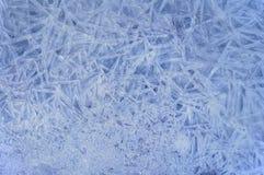 Natürlicher Hintergrund des Eisblaus Stockbilder