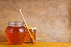 Natürlicher Honig stockbilder