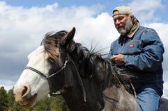 Natürlicher Horsemanship Stockbild