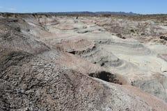 Natürlicher Park von Ischigualasto oder Vallede La Luna Lizenzfreie Stockfotos