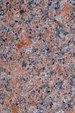 Natürlicher Polierfelsen des rosafarbenen Granits Lizenzfreie Stockfotos