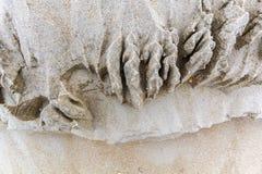 Natürlicher Sand überlagert Hintergrund Stockfotos