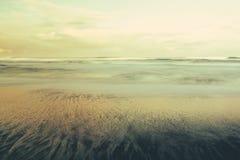 Natürlicher Sand zeichnet vor Oregon-Küste Lizenzfreie Stockfotografie
