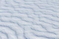 Natürlicher Schneehintergrund Lizenzfreies Stockbild