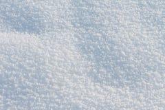 Natürlicher Schneehintergrund im Winter Stockbilder