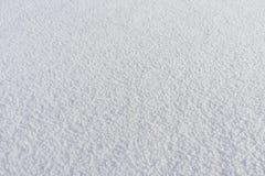 Natürlicher Schneehintergrund im Winter Stockbild