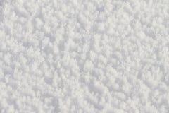 Natürlicher Schneehintergrund im Winter Lizenzfreies Stockbild