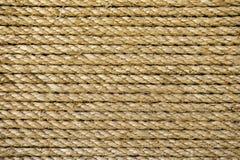 Natürlicher Seilhintergrund Stockbild