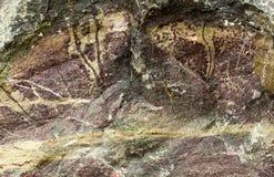 Natürlicher Steinbeschaffenheitshintergrund Stockbilder