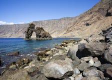 Natürlicher Steinbogen Roque de Bonanza, EL Hierro Stockbilder