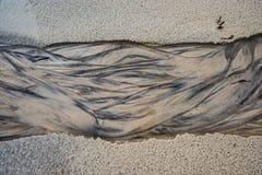 Natürlicher Strand-Sand-Zusammenfassungs-Hintergrund stockbilder
