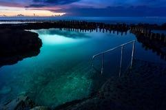 Natürlicher Swimmingpool von Agaete Stockbild