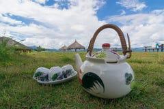 Natürlicher Tee Stockbild